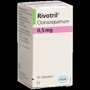 Clonazepam Rivotril rezeptfrei bestellen online Deutschland