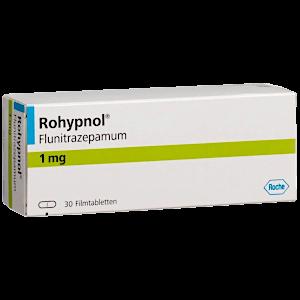 Flunitrazepam Rohypnol rezeptfrei bestellen online Deutschland